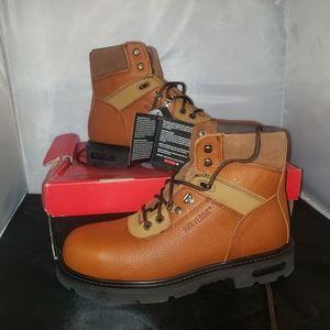 Wolverine steel toe work boots